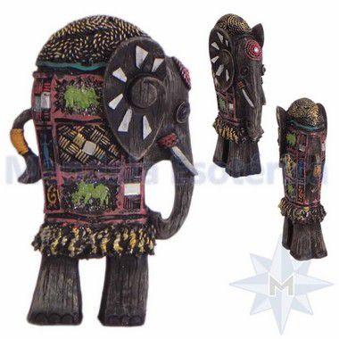 Elefante Longo Colorido