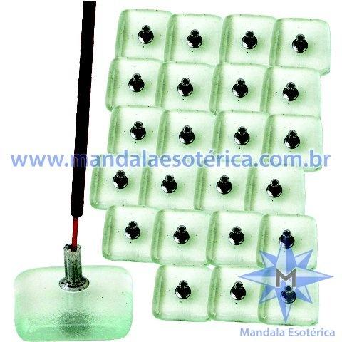 Incensários cristal energético conjunto 24