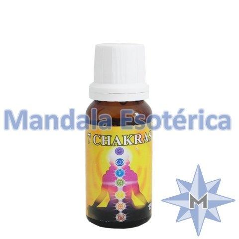 Essência Mandala Esotérica Aroma de 7 Chakras