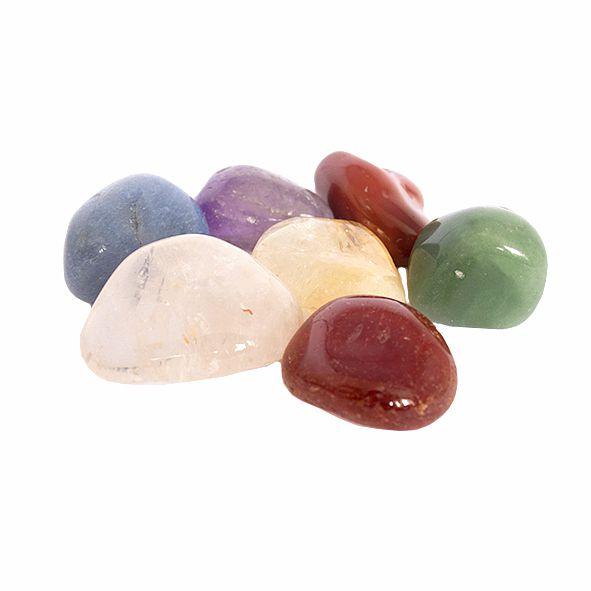 Kit Pedras dos 7 Chakras