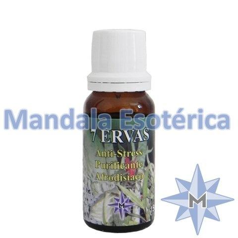 Essência Mandala Esotérica Aroma de 7 Ervas vidro com 15 ml