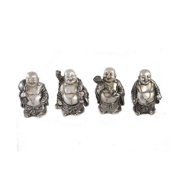 Conjunto de Budas - 4 modelos Diferentes