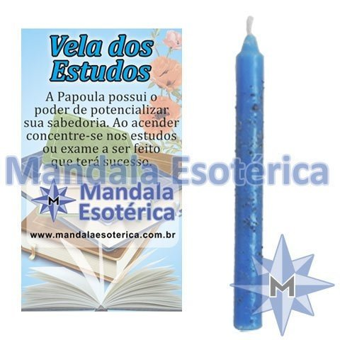Vela Estudos - Azul
