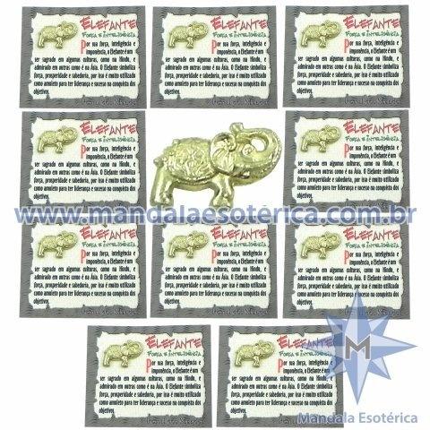 Amuleto Elefante - Força e Inteligente