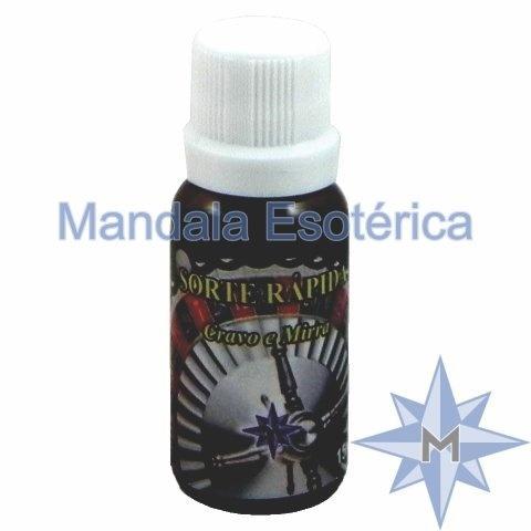 Essência Mandala Esotérica Sorte Rápida