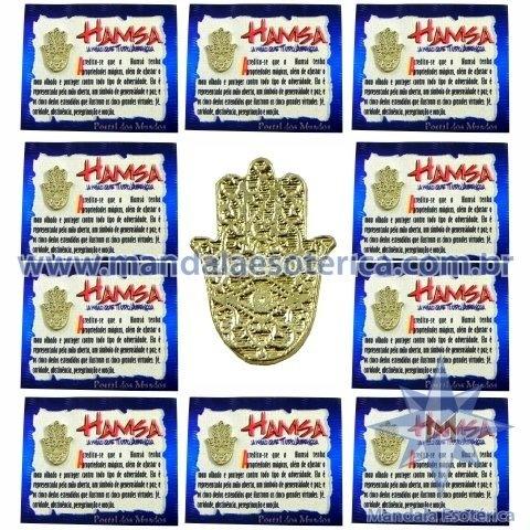 Amuleto Hamsa - A Mão que Tudo Abençoa