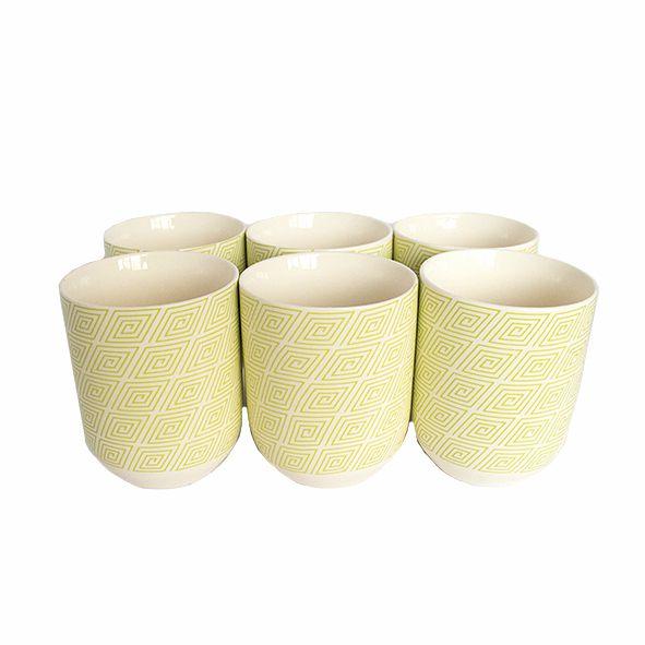 Conjunto de Copo Cerâmica