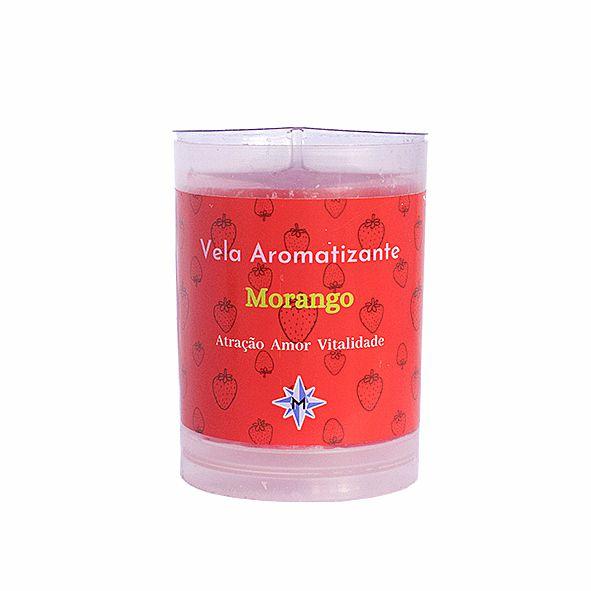 Vela Aromatizante - Morango