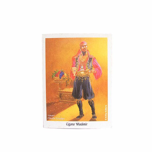 Caixa com Mini Poster de Cigano Wladimir - 44 Uni
