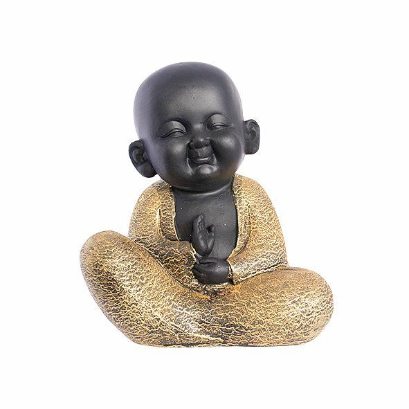 Monge Preto e Dourado - Médio