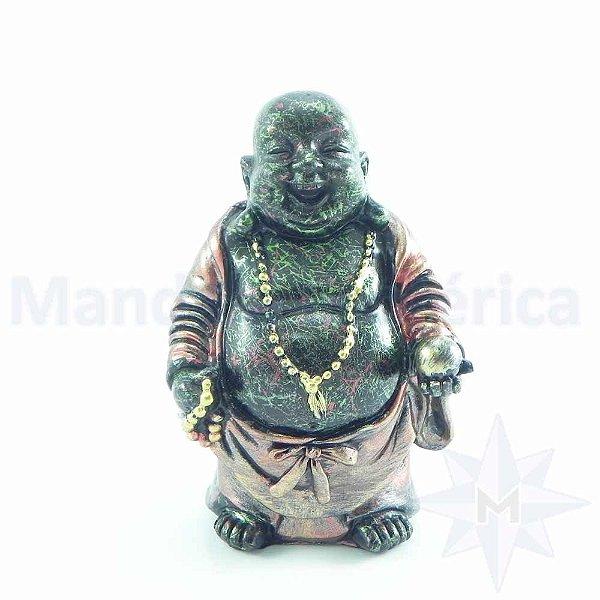 Buda Sorridente Ouro Purpura A