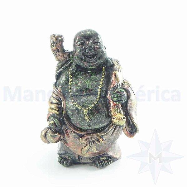 Buda Sorridente Ouro Purpura B