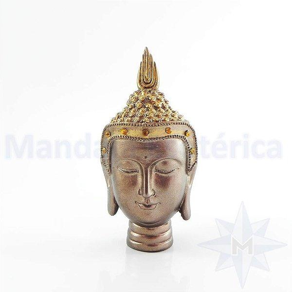 Cabeça de Buda Tai - Dourada