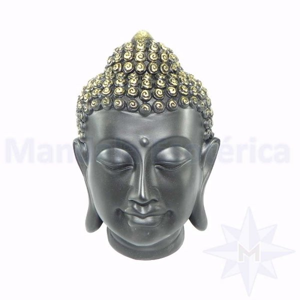 Cabeça de Buda Preta