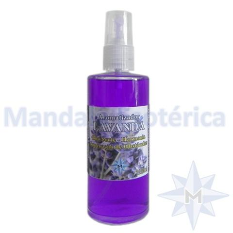 Aromatizador de Ambiente em Spray - Perfume de Lavanda