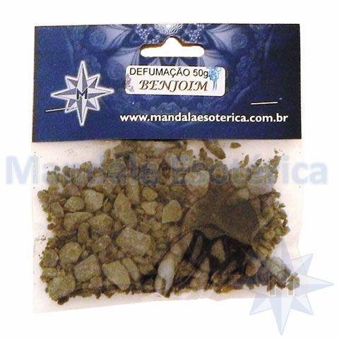 Defumação Benjoim pacote com 75 gramas