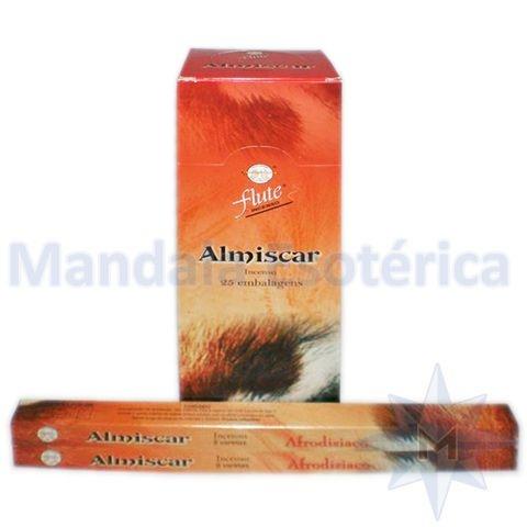 Incenso Flute Box no Aroma de Almíscar