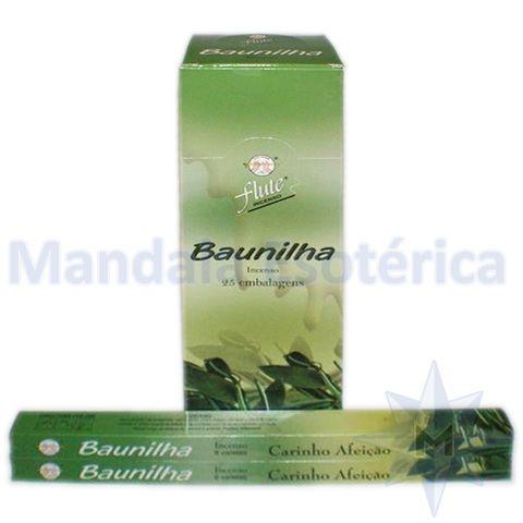 Incenso Flute Box no Aroma de Baunilha