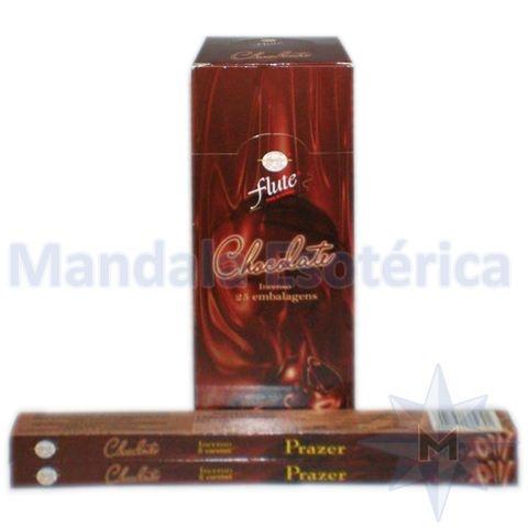 Incenso Flute Box no Aroma de Chocolate