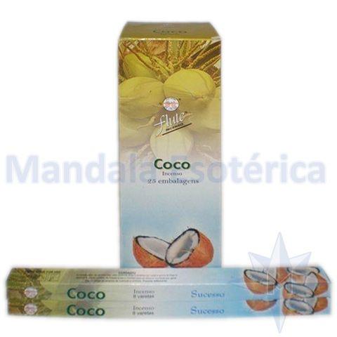 Incenso Flute Box no Aroma de Coco