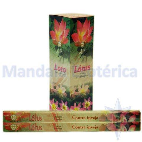 Incenso Flute Box no Aroma de Flor de Lótus