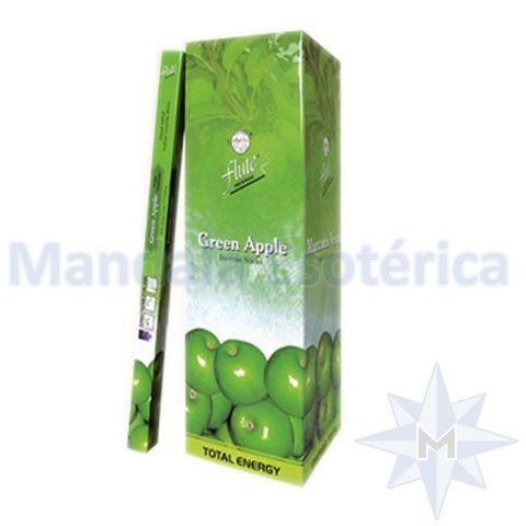 Incenso Flute Box no Aroma de Maçã Verde