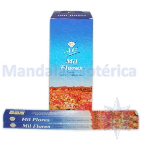 Incenso Flute Box no Aroma de Mil Flores