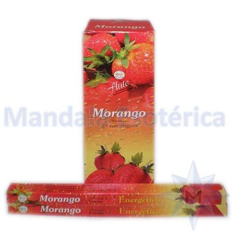 Incenso Flute Box no Aroma de Morango