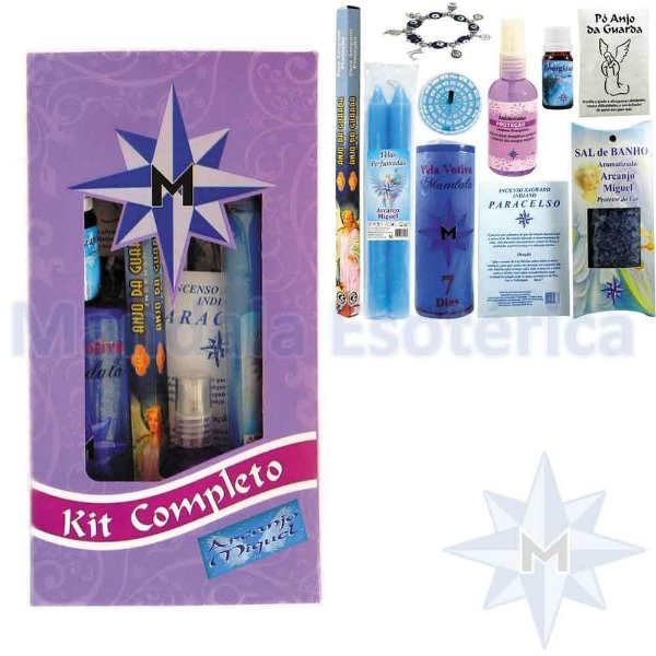 Kit Completo Arcanjo Miguel