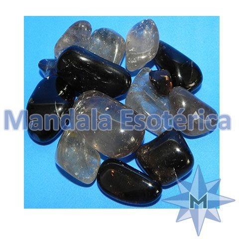 Pedra Rolada Cristal Fumê