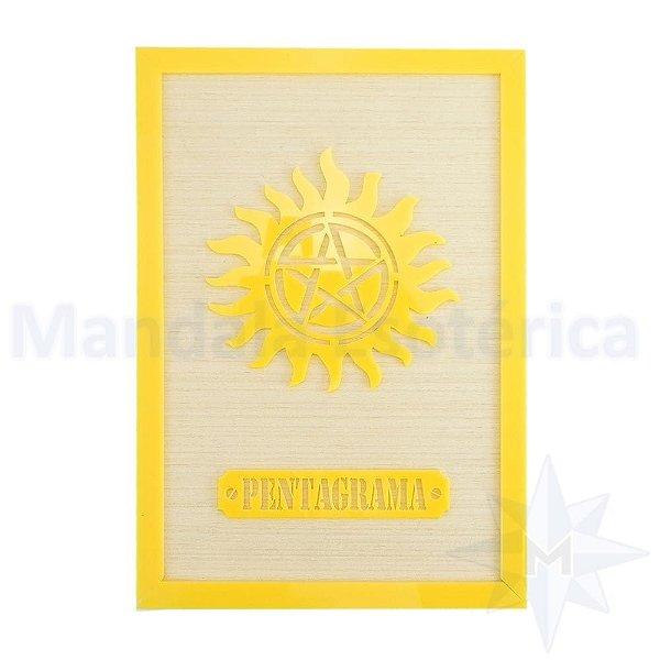 Quadro a Símbolo Pentagrama