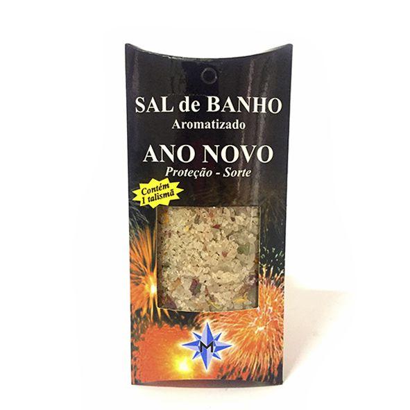 Sal de Banho Aromatizado - Ano Novo - Com Talismã