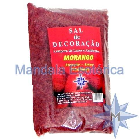 Sal de Decoração Morango