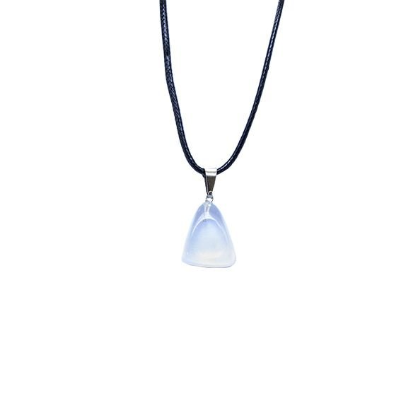 Colar Pedra Opalina