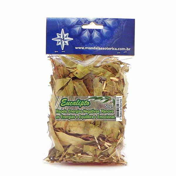 Eucalipto pacote com 50 gramas