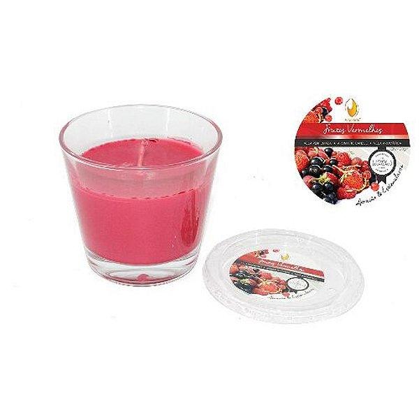 Vela Copo Importada Aroma Frutas Vermelhas