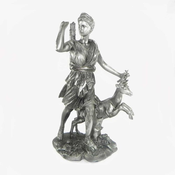 Ártemis com cervo - Diana