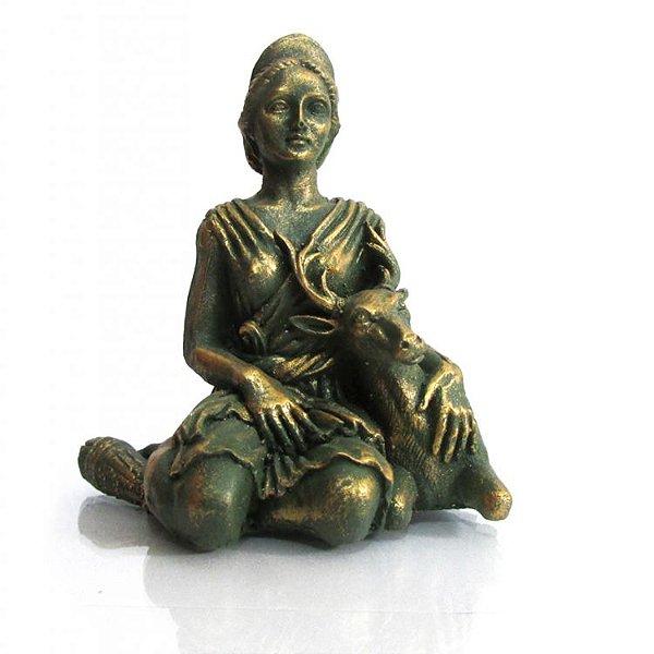 Deusa Ártemis Pequena - Diana