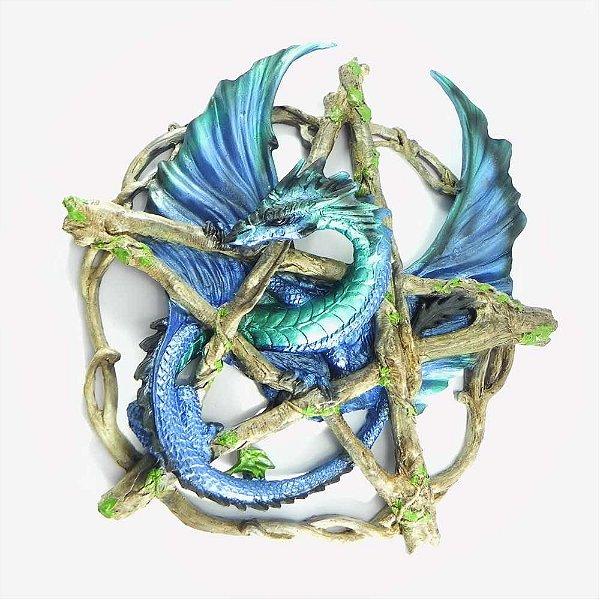 Dragão Azul no pentagrama