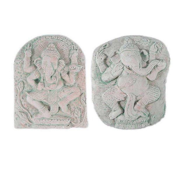 Par de Placas com Ganesha