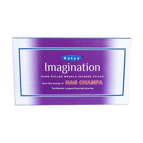 Incenso Imaginação Satya Box com 12 Unidades