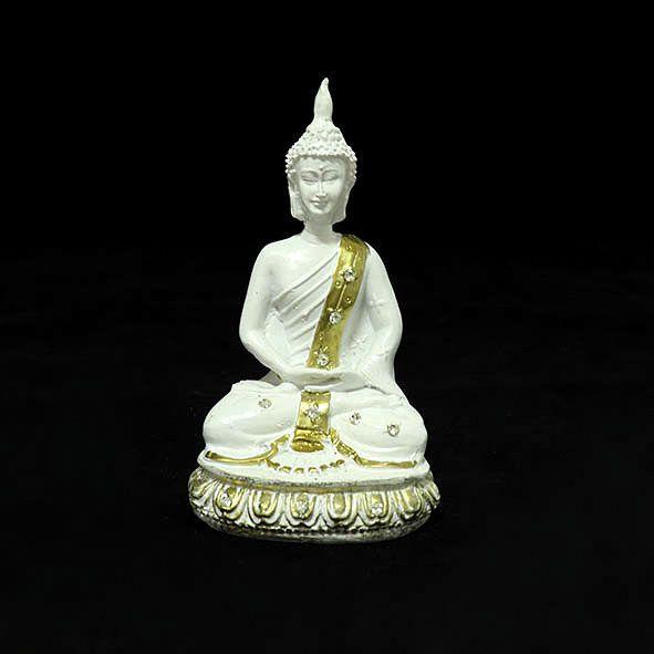 Buda com Strass Meditando - Cores Diversas