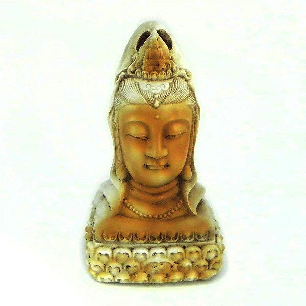Incensário Busto Kuan Yin