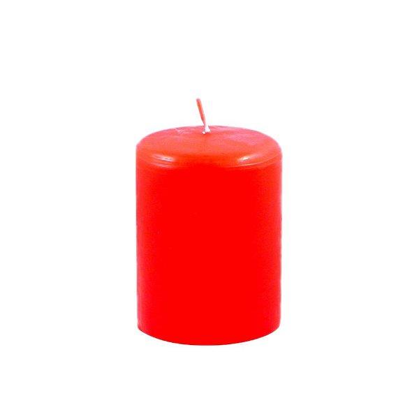 Vela decoração de Natal Vermelha P
