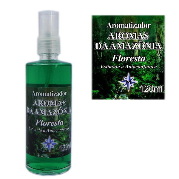 Aromatizador Aromas da Amazônia - Perfume Floresta