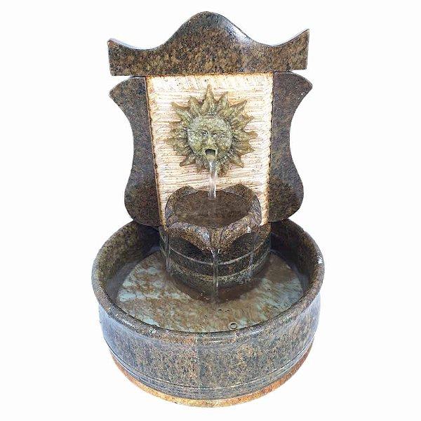 Fonte Colonial Sol em Pedra Sabão