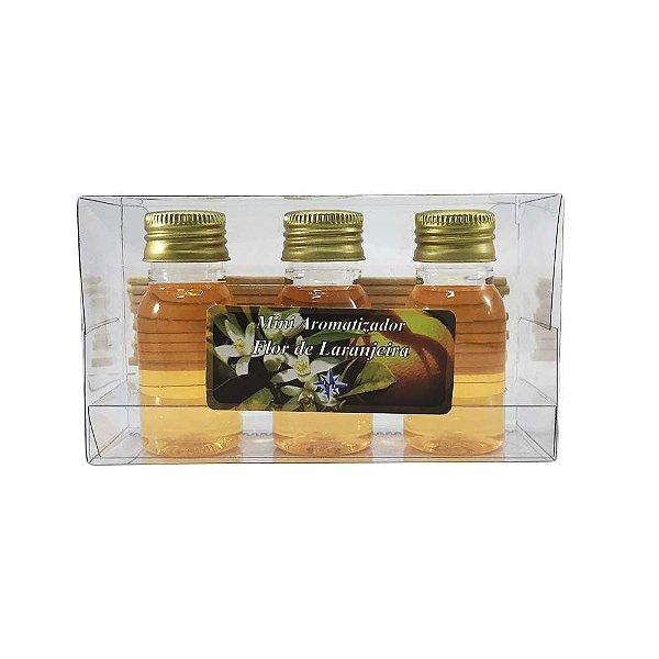 Mini Aromatizador com 3 - Flor de Laranjeira