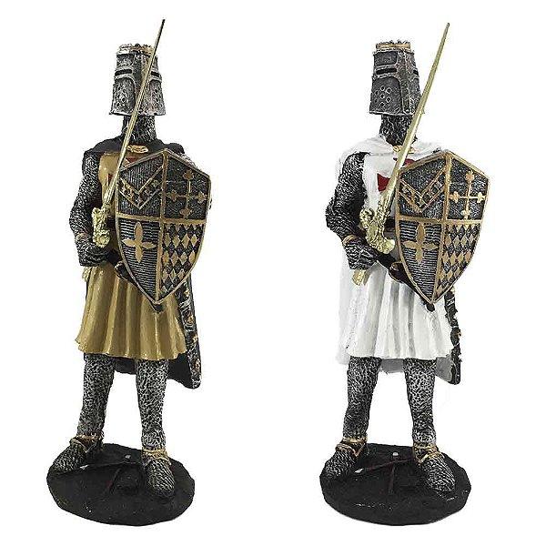 Guerreiro Medieval com escudo PQ