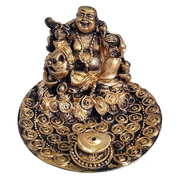Incensário Buda da Fortuna