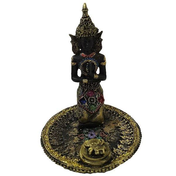 Incensário de Buda Ajoelhado